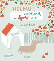 Helmut, der Hund der Äpfel zählt
