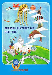 Lesestark! Dresden blättert die Welt auf.