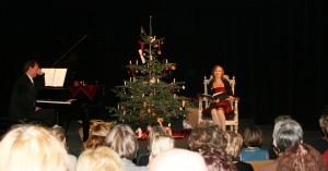 Weihnachtsfeier mit Josephine Hoppe