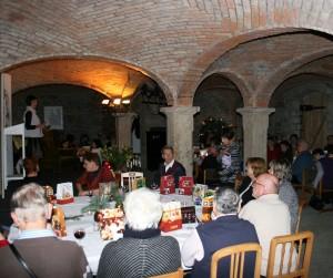 Weihnachtsfeier des Projekts Lesestark!