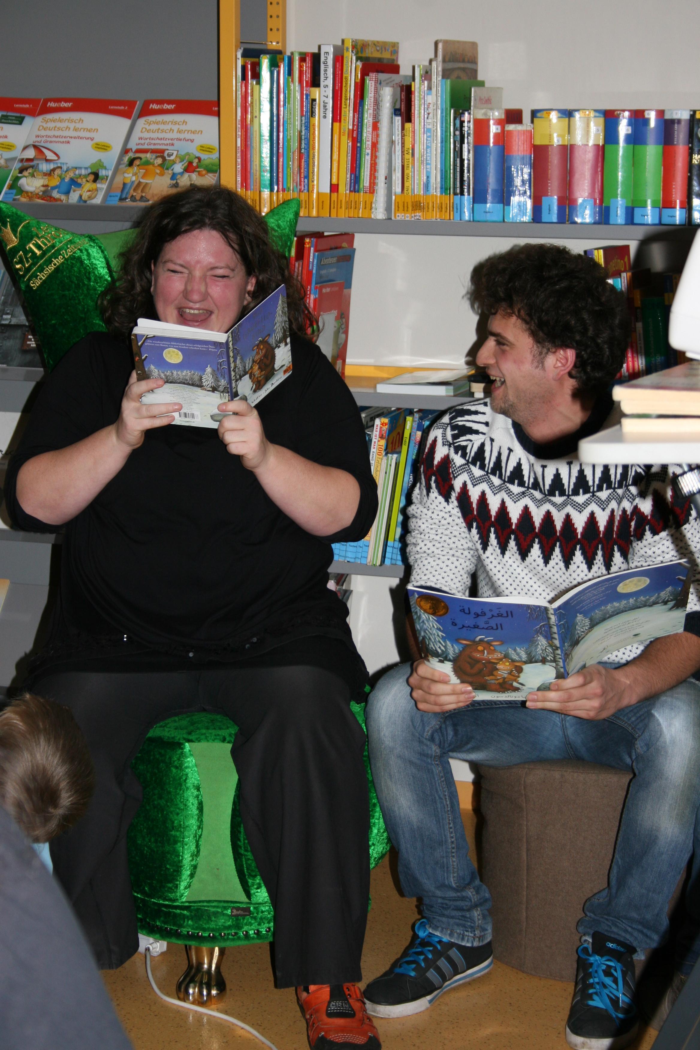 Anna Mateur und Umam (2)klein